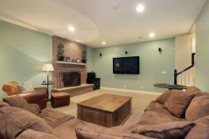 finished basement ideas in virginia beach