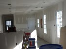 Virginia Beach Kitchen Drywalled